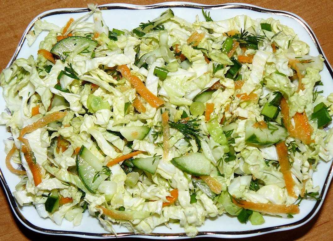 Салат из пекинской капусты — простые и вкусные рецепты