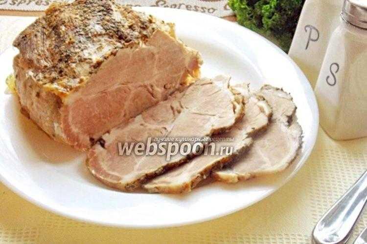 Буженина из свинины в домашних условиях — 10 классических рецептов в духовке