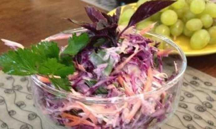 Салаты из свежей капусты и моркови - 15 быстрых и вкусных рецептов