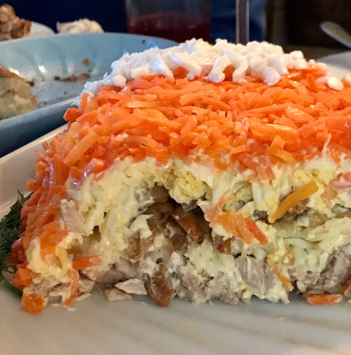 Салат «лисья шуба» — 8 рецептов