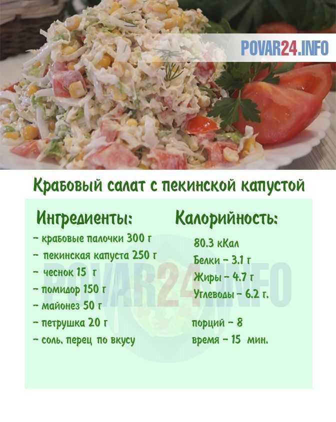 Салаты из пекинской капусты — 17 простых и вкусных рецептов быстрых и полезных салатов