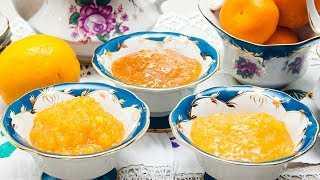 Простые рецепты мандаринового джема