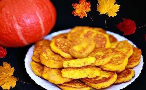 Оладьи из тыквы: 8 самых вкусных и любопытных рецептов