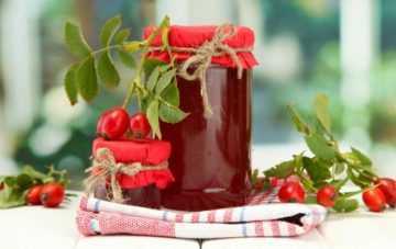 Варенье из шиповника на зиму: рецепты с фото пошагово