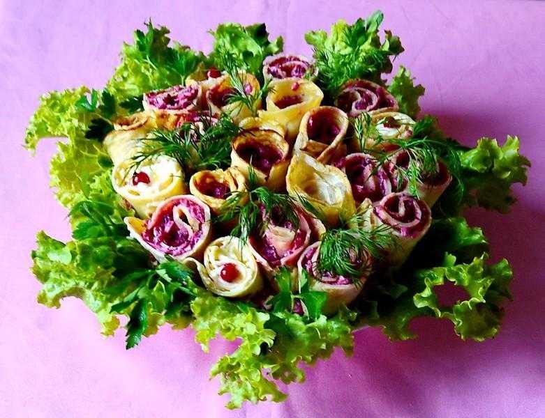Салат «весенний букет»: рецепт приготовления пошагово с фото
