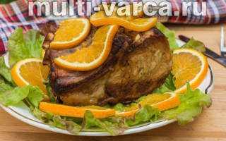 Свинина с апельсинами в духовке: рецепты, как приготовить