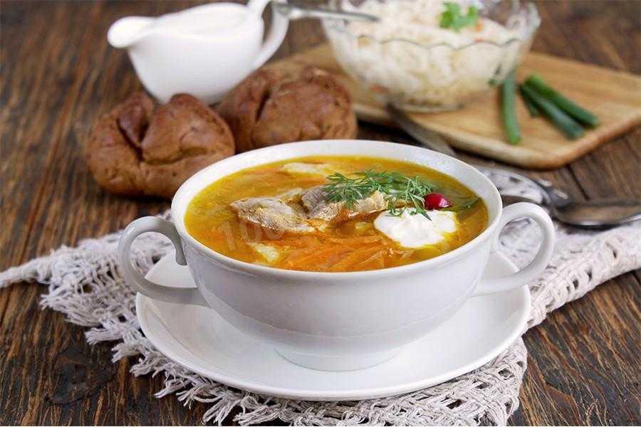 Грибной суп из замороженных белых грибов