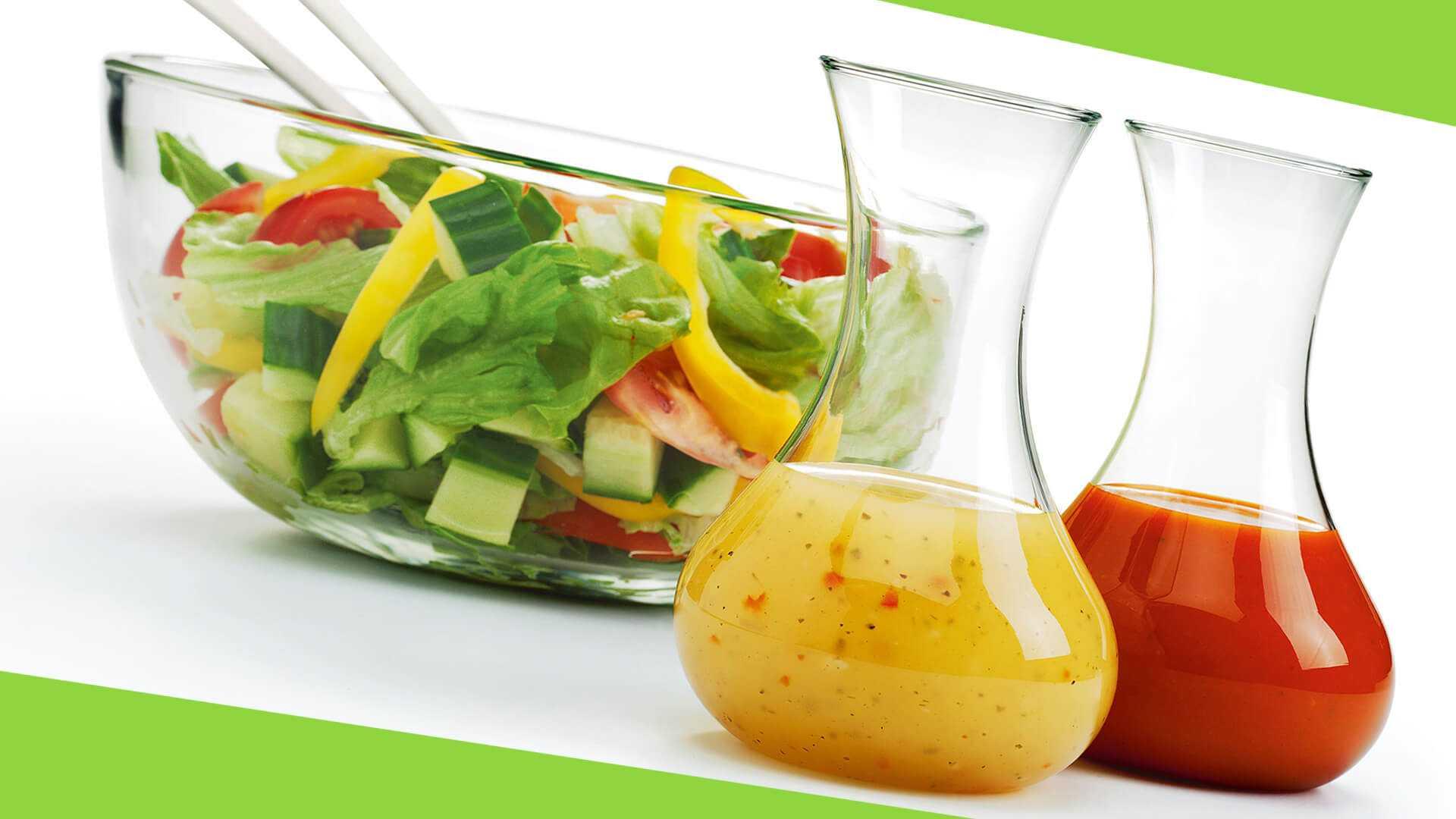 Заправки для салатов без майонеза (рецепты их приготовления)
