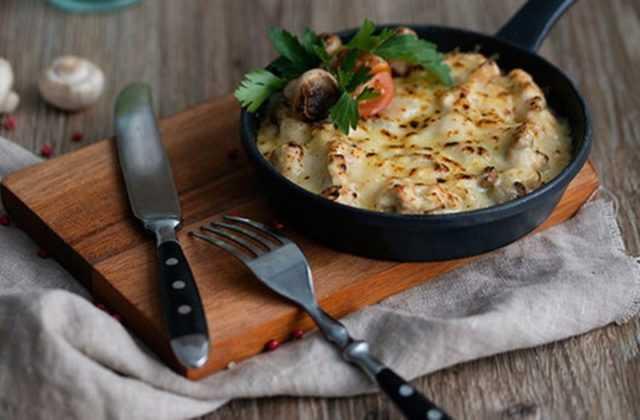 Жульен с курицей и грибами - 8 вкусных рецептов пошагово с фото