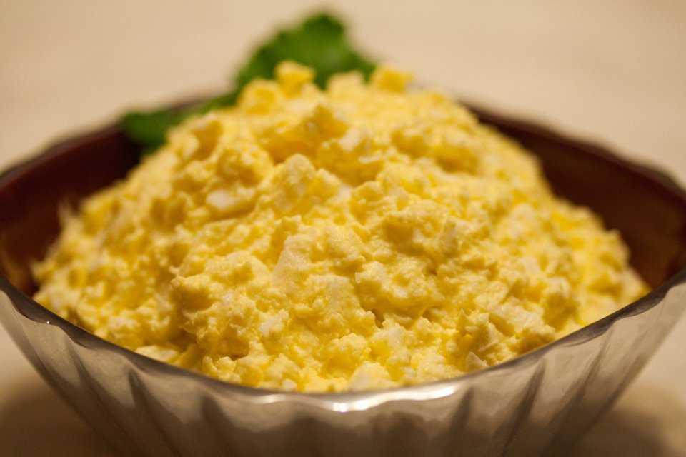 Салат с плавленным сыром