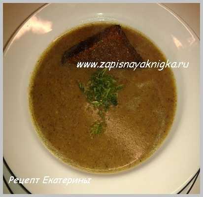 Грибной суп в мультиварке из замороженных грибов