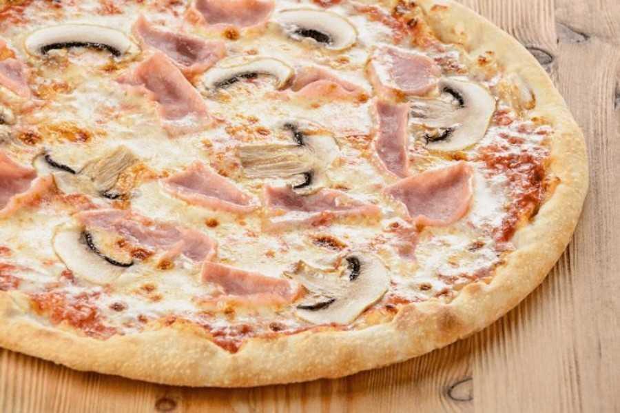 Пошаговый рецепт приготовления пиццы с грибами