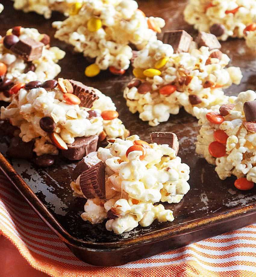 3 рецепта удивительного десерта из попкорна