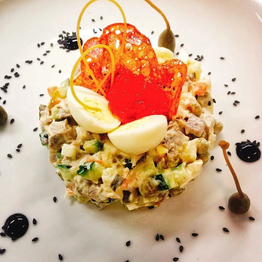 "Салат ""меркурий"" рецепт с фото пошагово - 1000.menu"