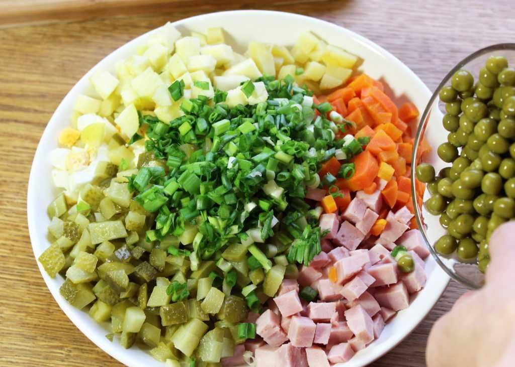 20 простых салатов с зеленым горошком, от которых у вас потекут слюнки
