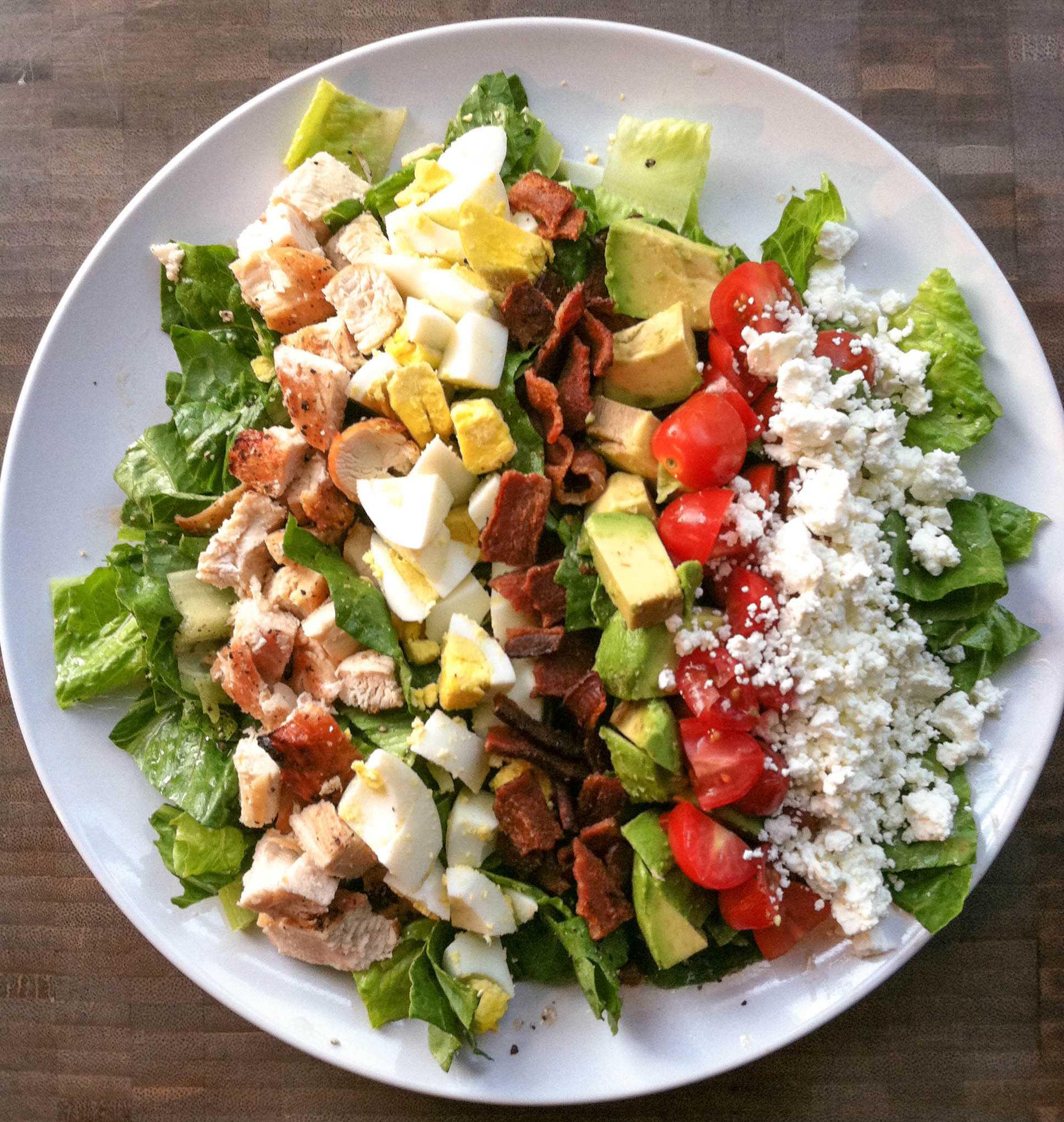 Кобб салат - рецепт оригинального американского салата