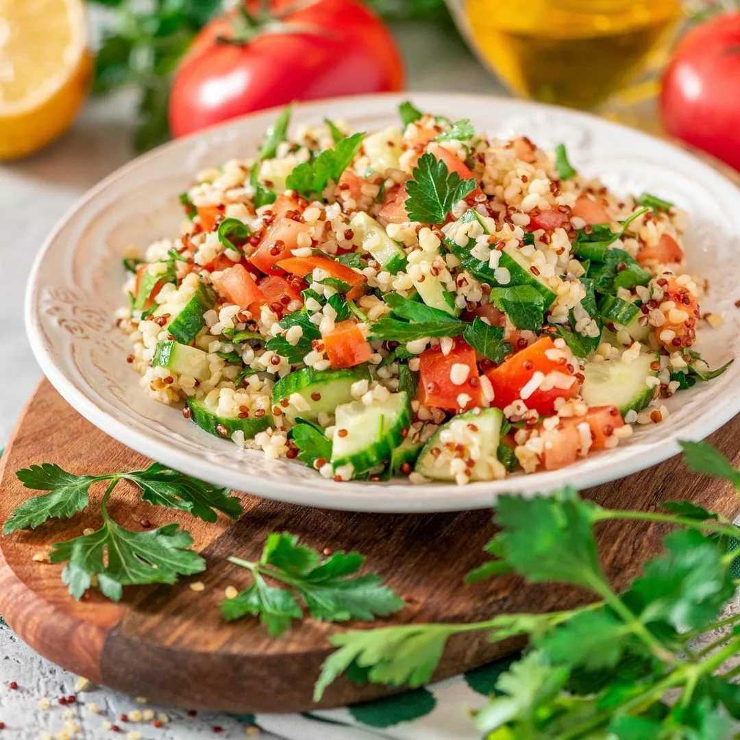 Готовим овощной салат с киноа: поиск по ингредиентам, советы, отзывы, пошаговые фото, подсчет калорий, удобная печать, изменение порций, похожие рецепты