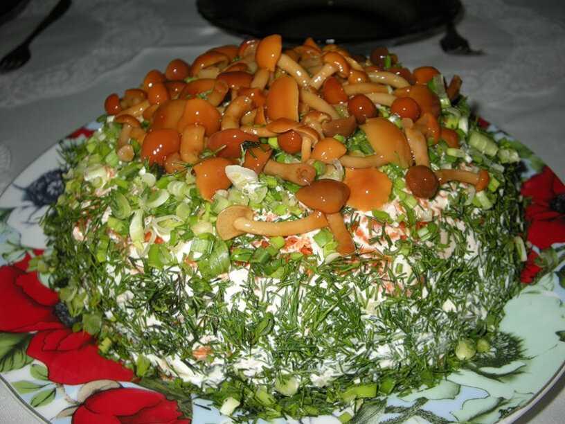 Топ-4 рецепта праздничных салатов «лесная поляна»