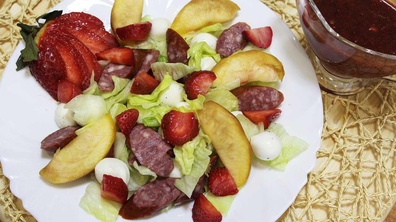 Картофельный салат с охотничьими колбасками. холодные и теплые салаты. мясные, рыбные, овощные, корейские, постные + 50 салатных заправок