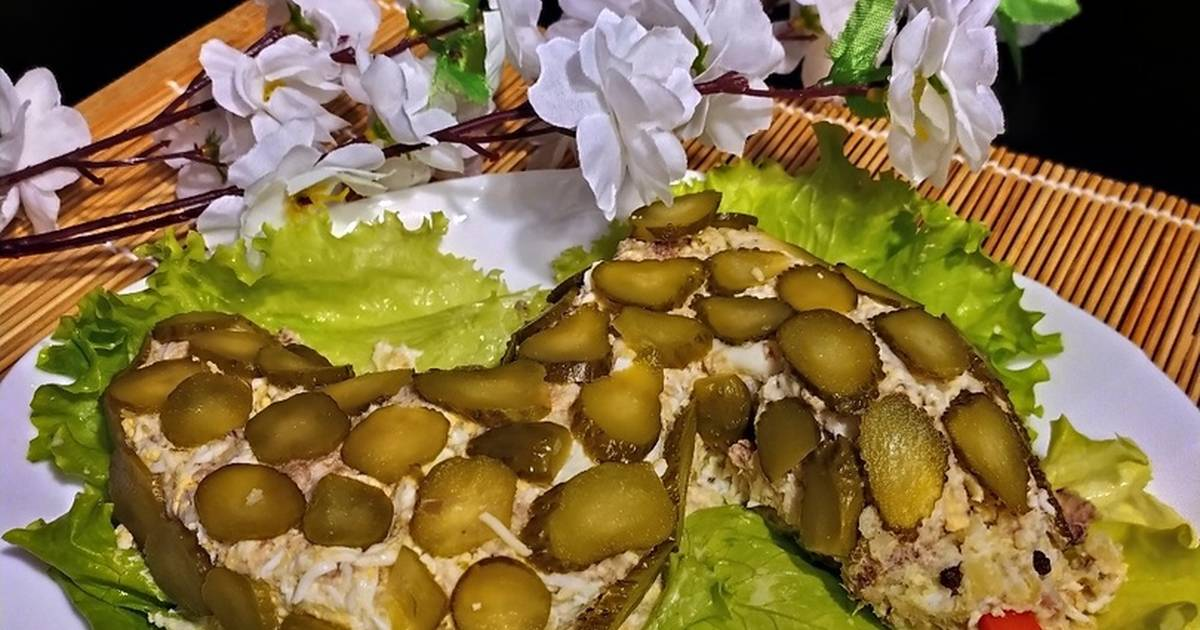 Вы хотите узнать, как качественно приготовить рецепт Салат Змейка по-русски Комментарии, состав, советы, пошаговые фото, порядок приготовления, похожие салаты