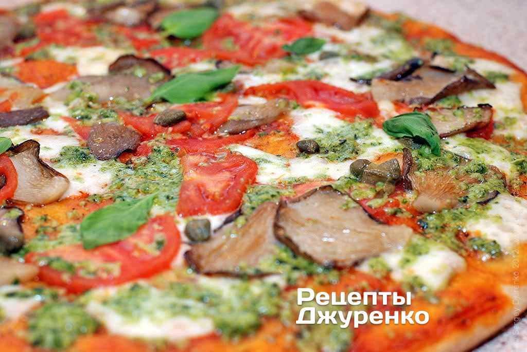 Пицца с грибами и другими ингредиентами: 5 вкуснейших рецептов