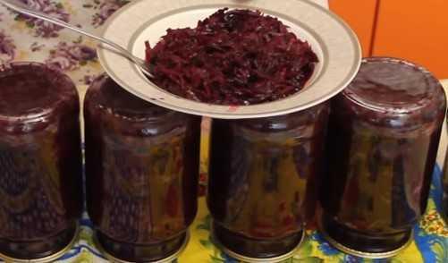 Маринованная свекла: простой рецепт закуски на зиму и на каждый день