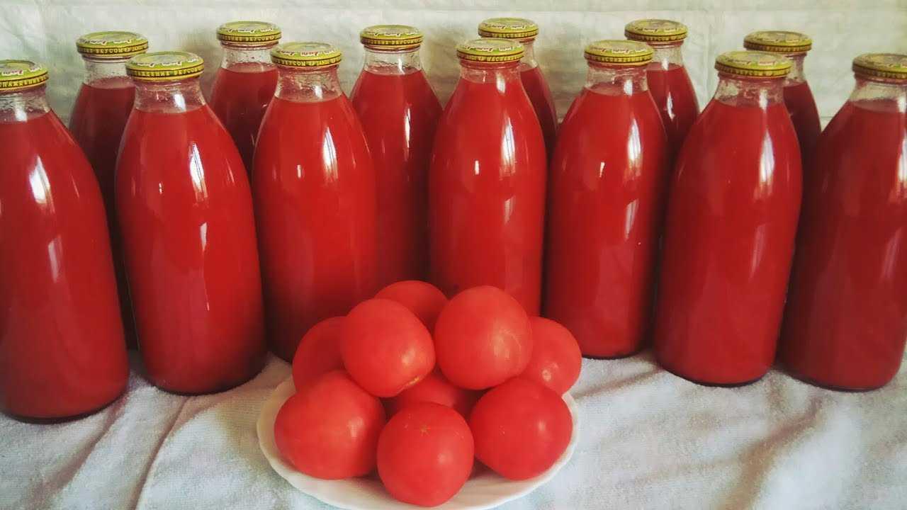 Томатный сок на зиму в домашних условиях: рецепт, сварить, приготовить, помидор, через мясорубку, простой, с сельдереем, фото и видео