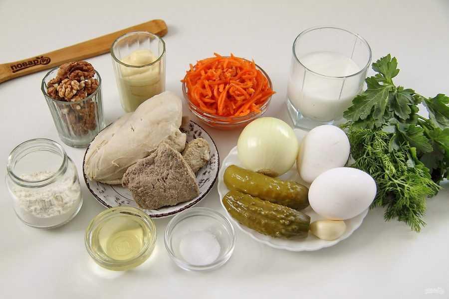 Готовь салат Кояш: поиск по ингредиентам, советы, отзывы, пошаговые фото, подсчет калорий, удобная печать, изменение порций, похожие рецепты