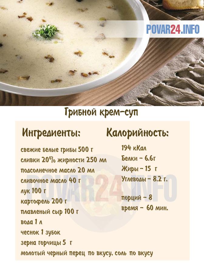 Рецепт куриного супа с грибами и вермишелью