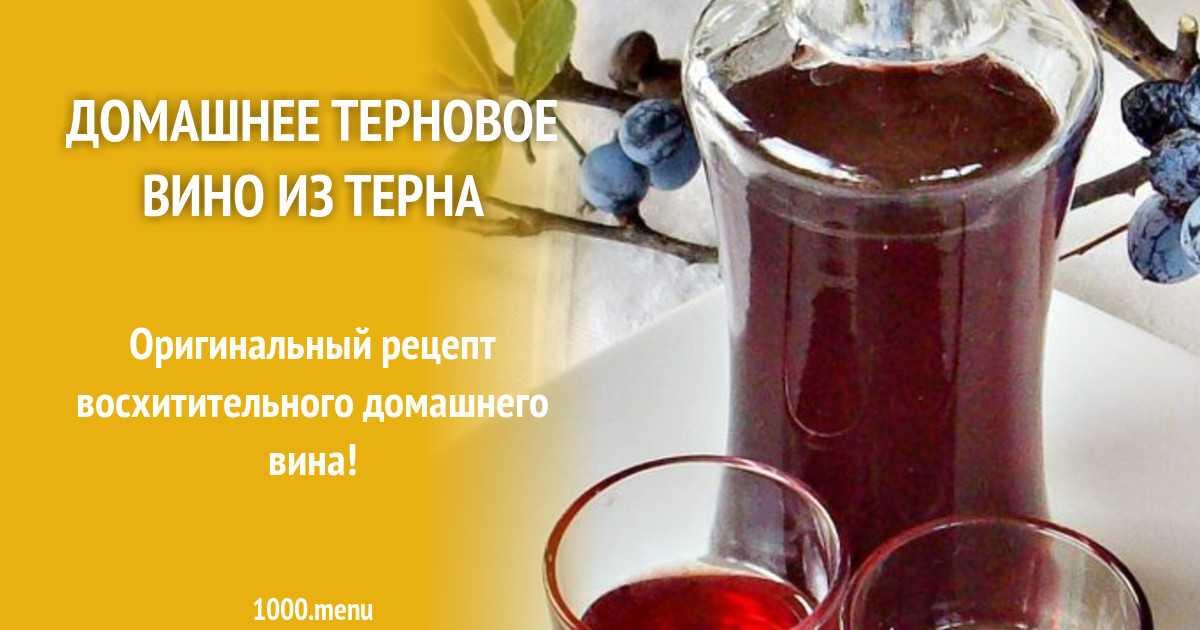 Делаем домашнее вино из винограда изабелла и лучший рецепт из терна | cherpachok.com
