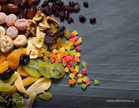Сколько калорий в цукатах из ананасов  и других фруктов на 100 грамм, можно ли при похудении