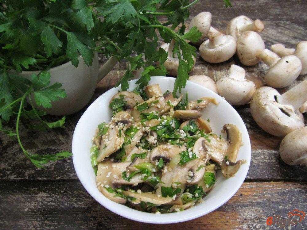 Салат с шампиньонами и огурцами — пошаговый рецепт с фото