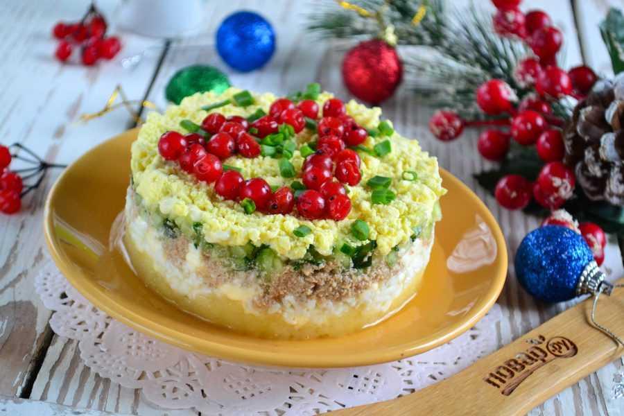 Салат с печенью трески и яйцом: рецепт с фото пошагово