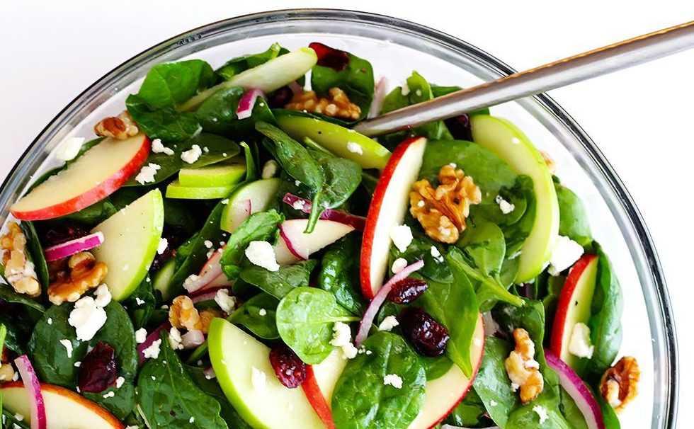 Рецепты овощной салат с фетой