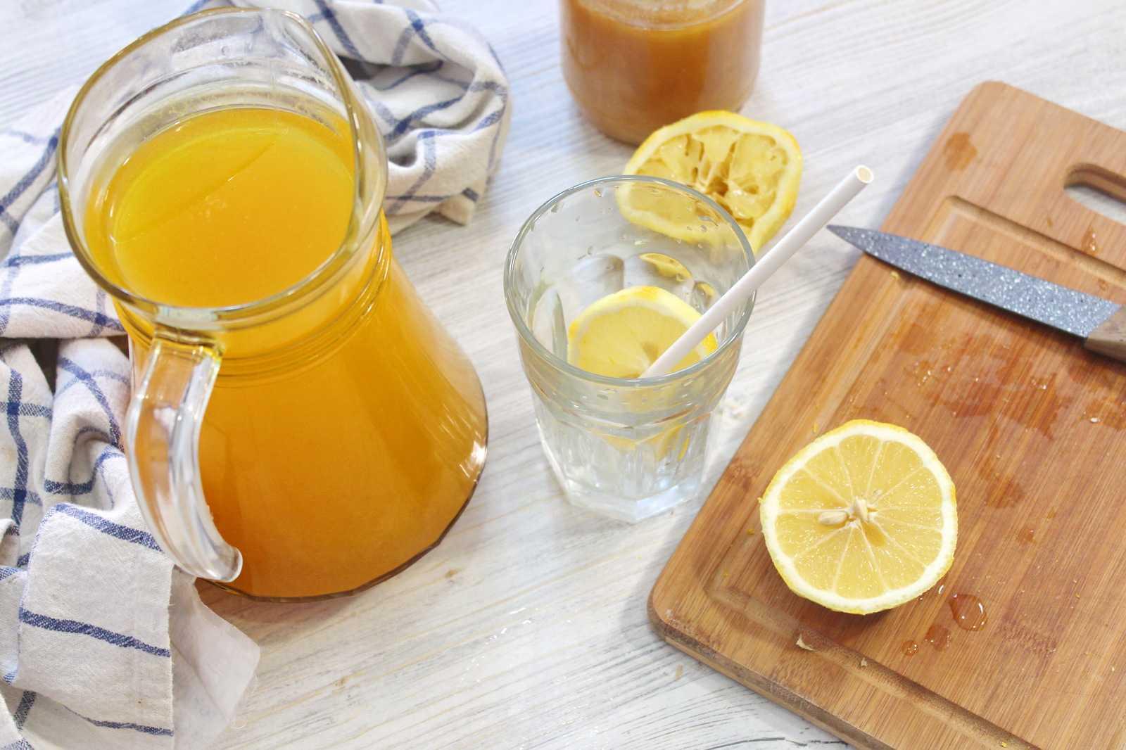 Имбирный чай с лимоном и медом: полезные свойства и рецепт