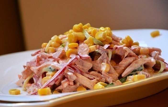 Салат гусарский с помидорами и говядиной рецепт с фото пошагово и видео - 1000.menu