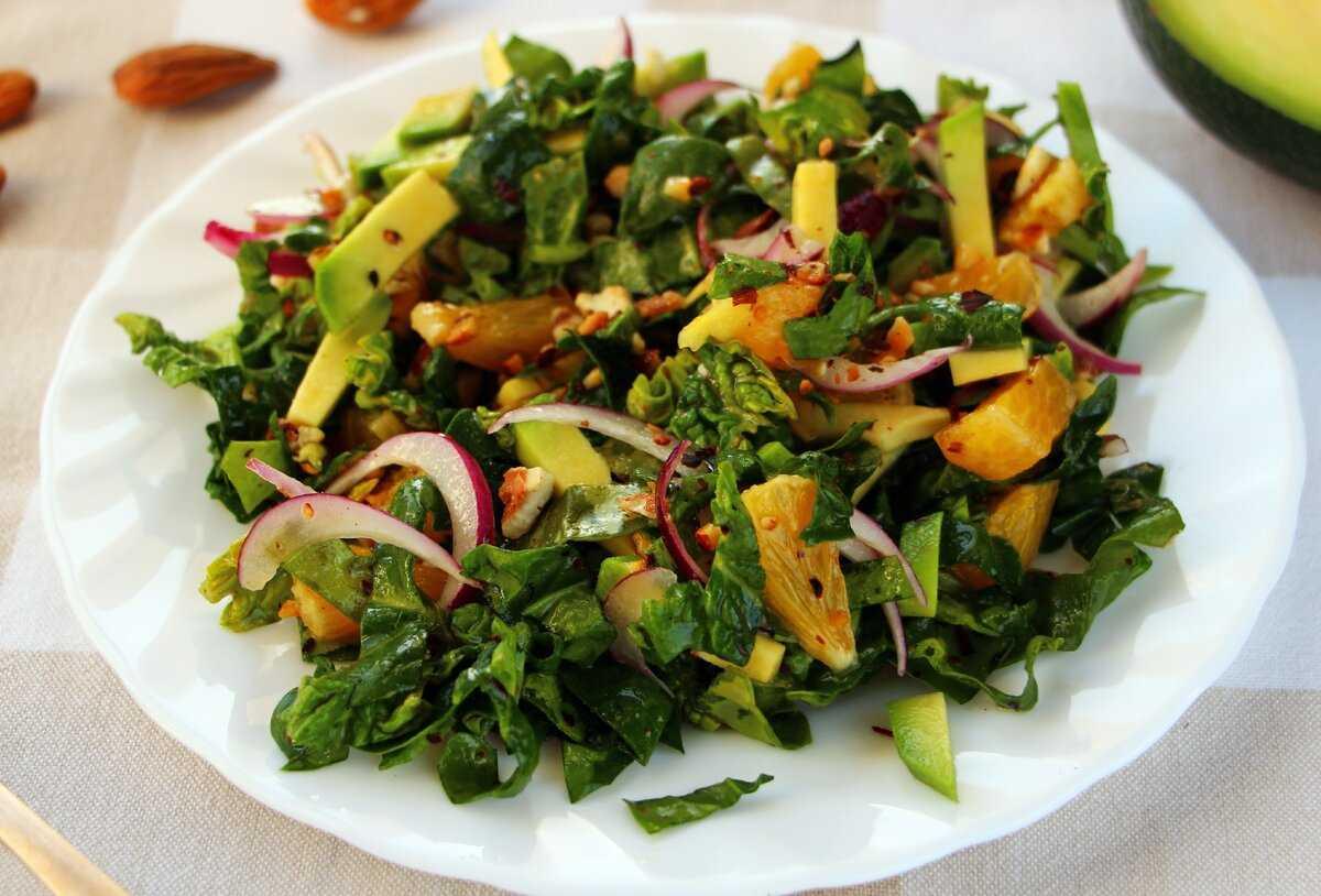 Салат из шпината с яйцом рецепт с фото