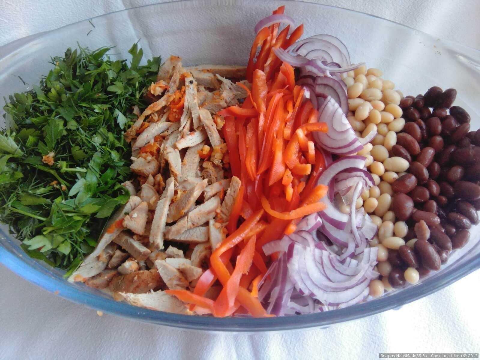 Пошаговый рецепт приготовления салата тбилиси с фото