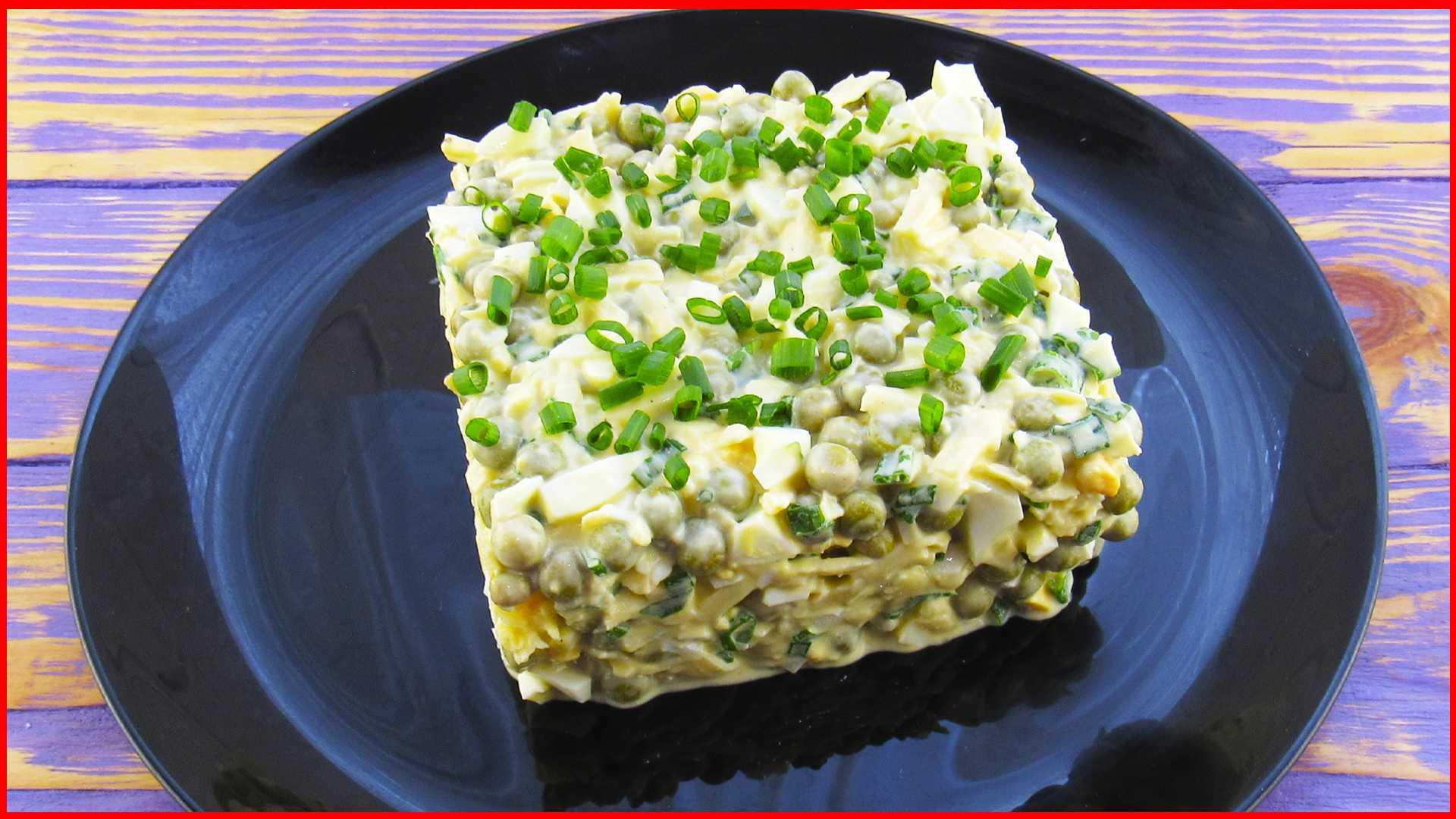 Салат с сайрой и сыром рецепт с фото - 1000.menu