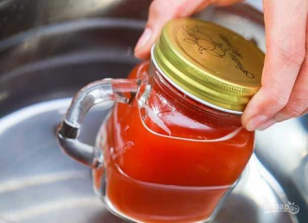 5 рецептов томатного сока на зиму