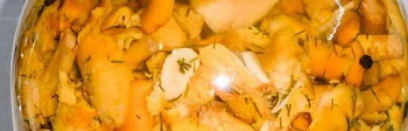 Жареные лисички: рецепт приготовления