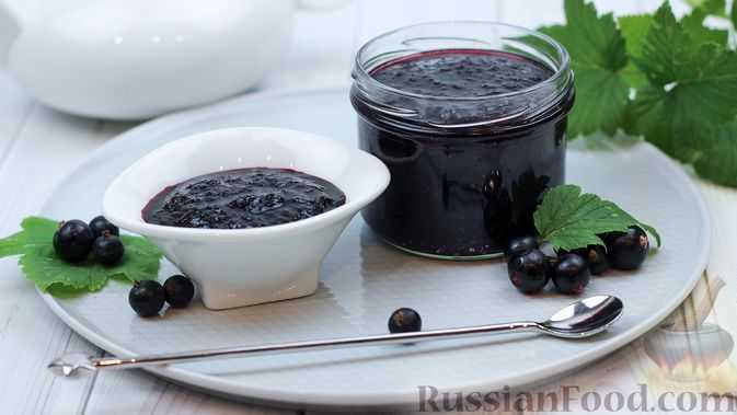 Рецепт черной смородины, протертой с сахаром на зиму - 10 пошаговых фото в рецепте
