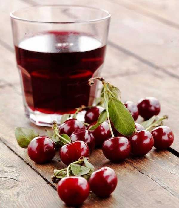Вишневый сок — пошаговый рецепт с фото