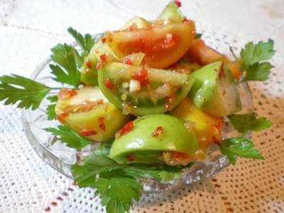 Маринованные зеленые помидоры на зиму: рецепты заготовки