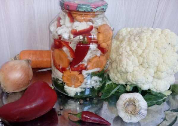 Маринованная цветная капуста быстрого приготовления: рецепты, описание, фото.