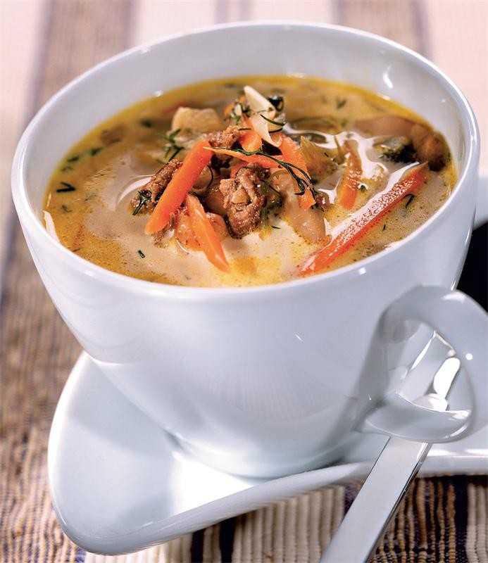 Грибной суп пюре — самые вкусные рецепты супов с грибами