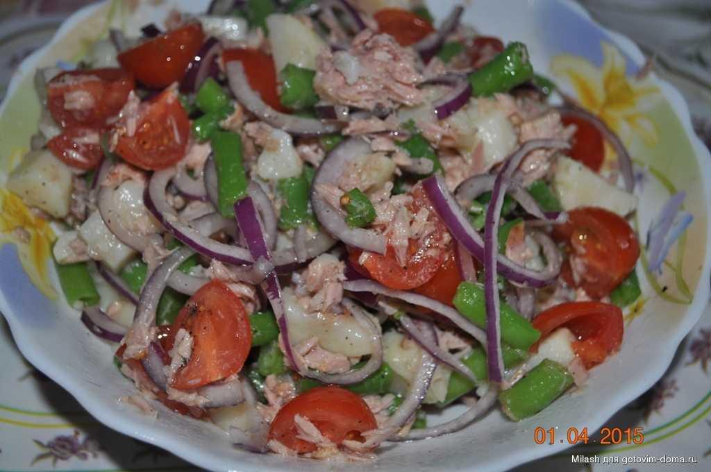 Какие салаты с фасолью можно худеющим