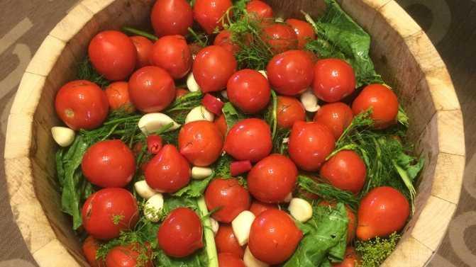 Как приготовить квашеные зелёные помидоры с чесноком и зеленью в кастрюле или в ведре? лучшие рецепты