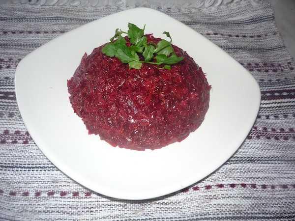 Капуста по-грузински со свеклой — традиционный рецепт