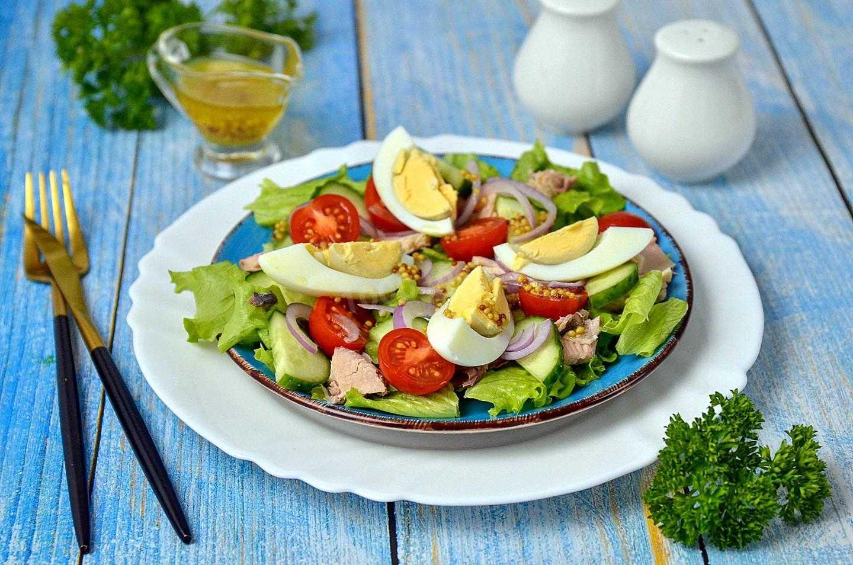 Салаты с тунцом - 20 рецептов просто, быстро и вкусно